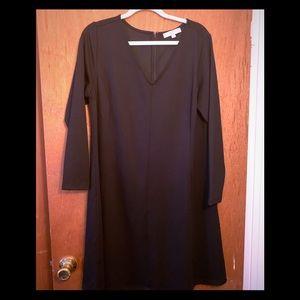 Brand new LOFT Plus black dress